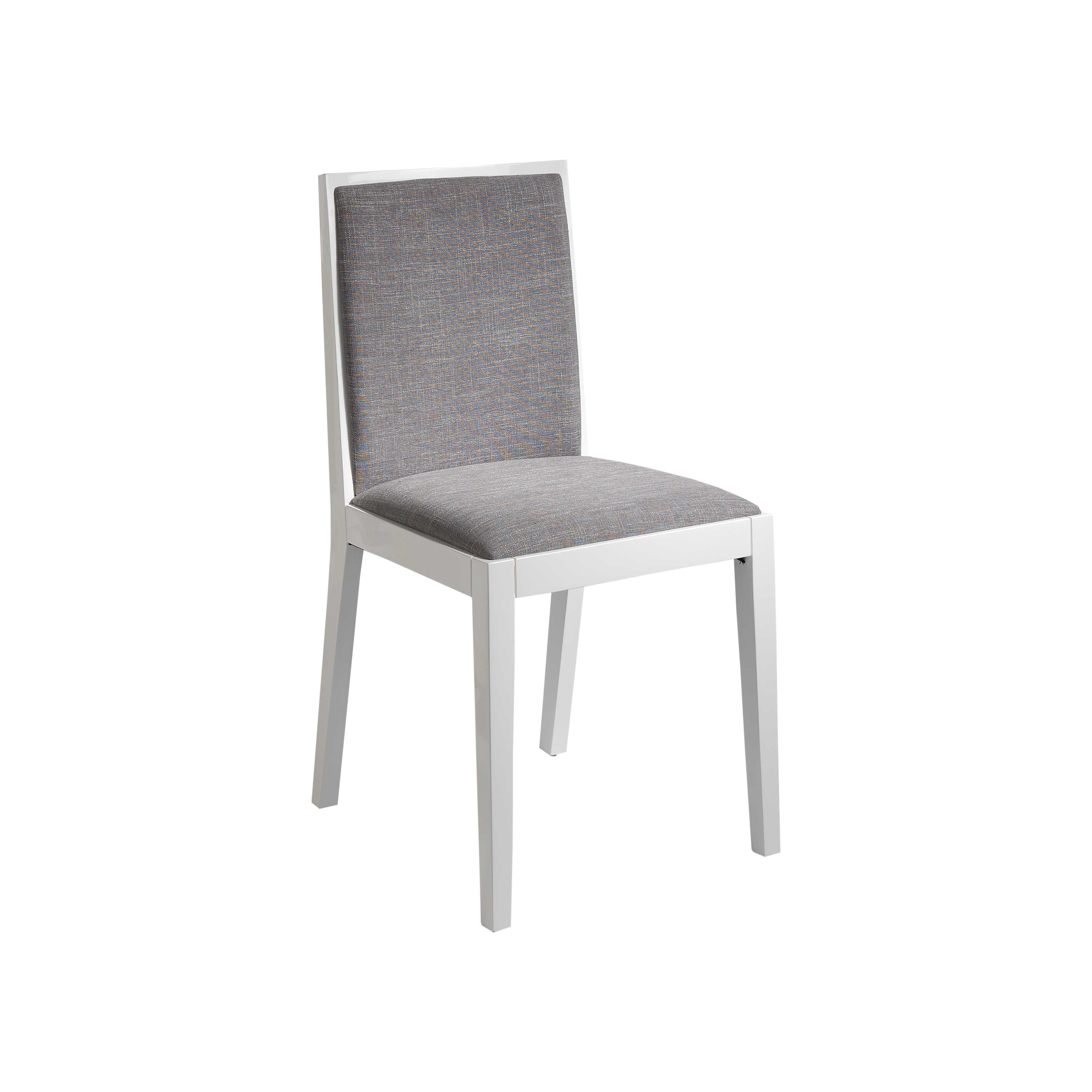 Pack 2 sillas de comedor color gris
