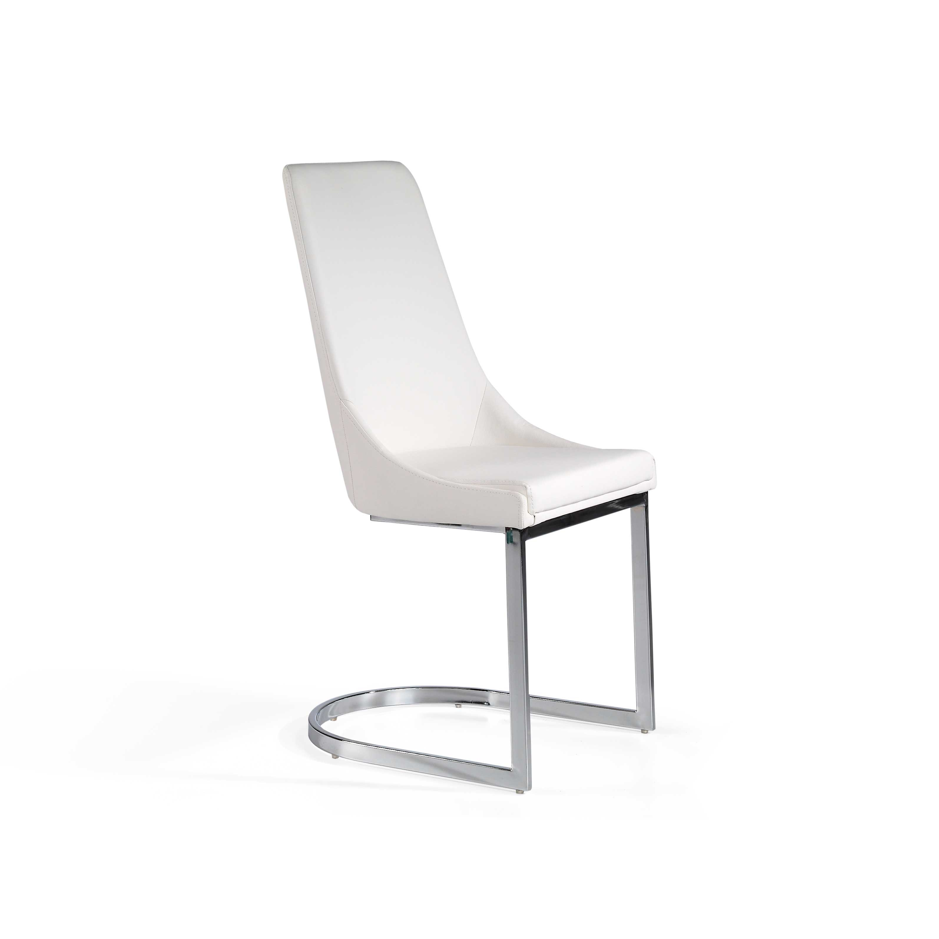 Pack 2 sillas tapizada blanca