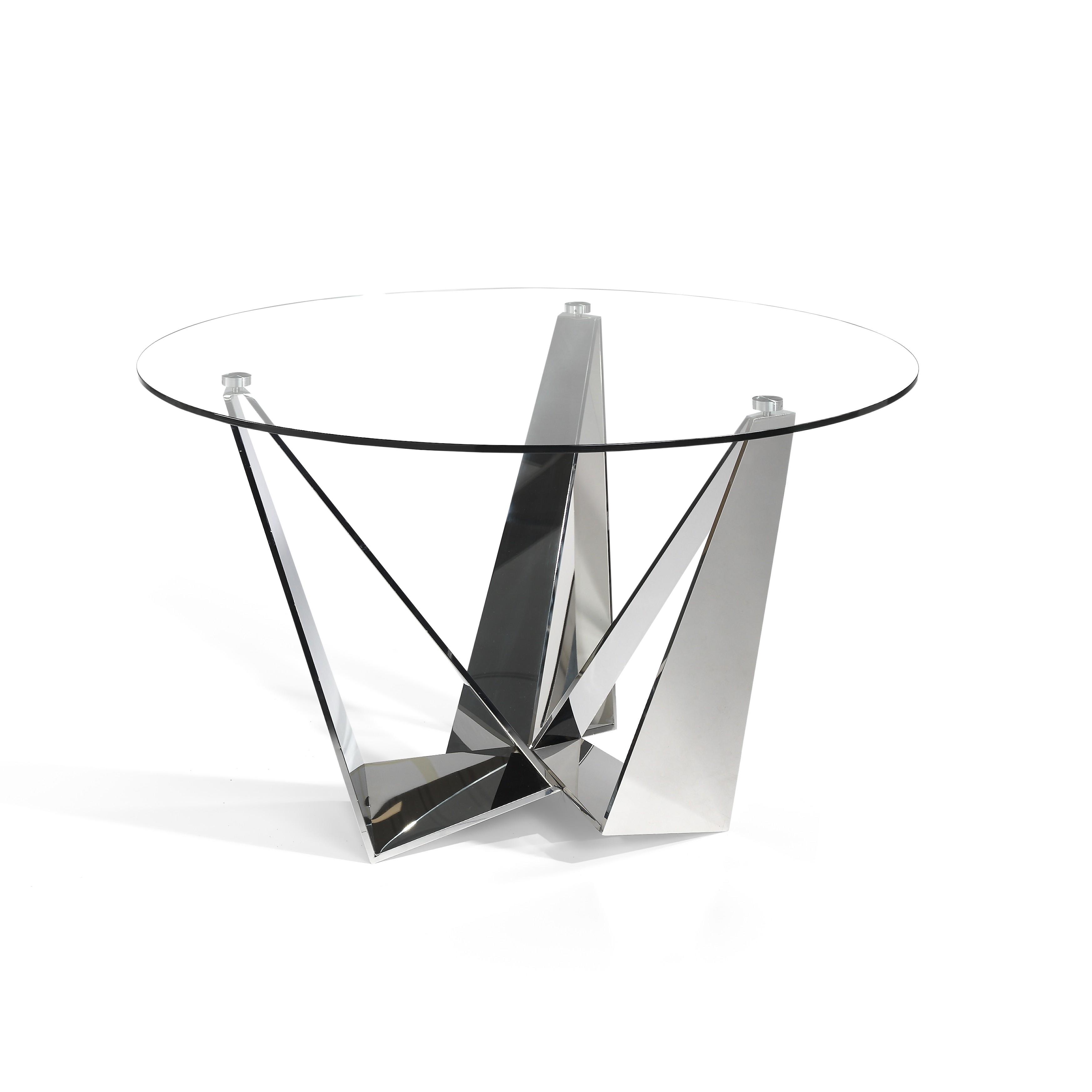 Mesa de comedor circular