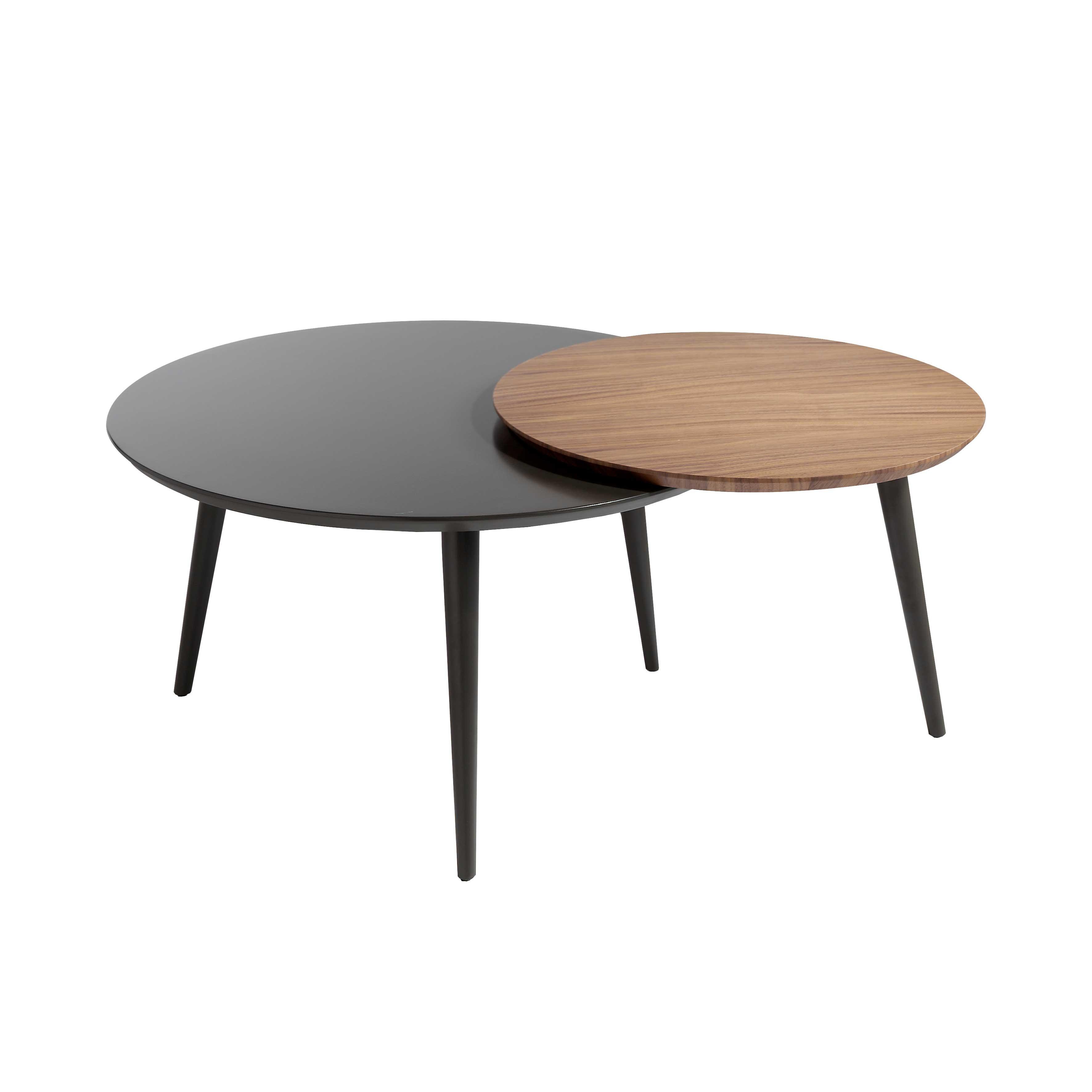 Mesa de centro circular