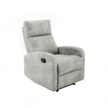 Sillón relax tejido color gris mod. Tavira-g