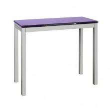 Mesa extensible en cristal a elegir color