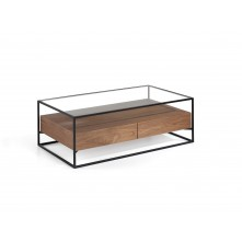 Mesa de centro rectangular mod. Timber