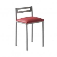 Pack 4 taburetes estructura metálica y tapizado a elegir